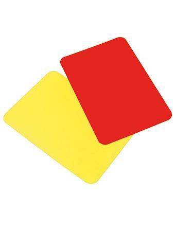 Set cartonase arbitru 37405