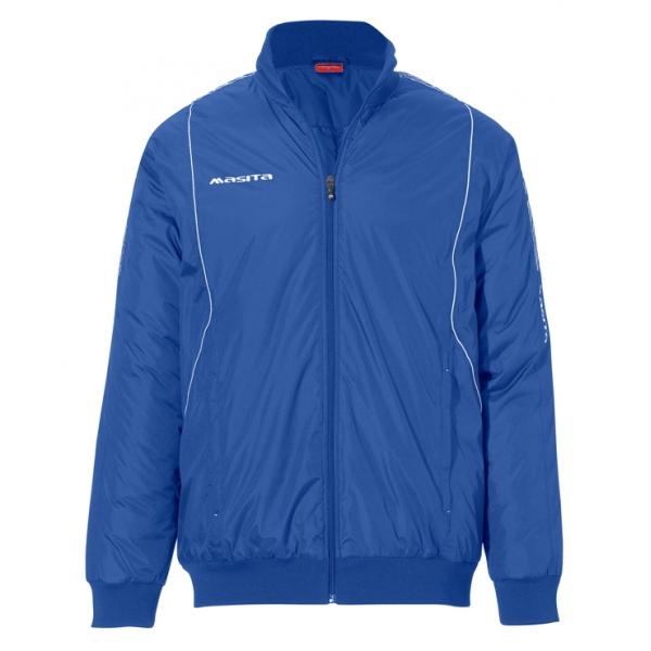 Geaca Iarna material AquaTech Bleumarin / Alb BARCA - Masita.ro