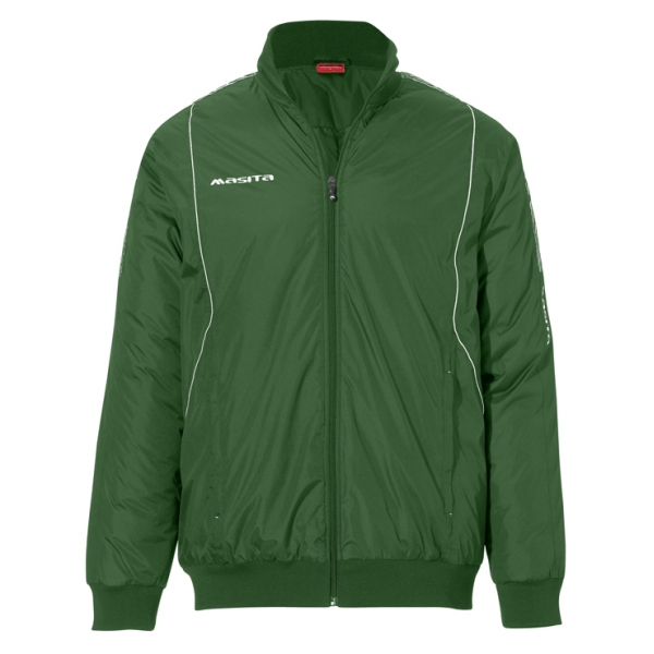 Geaca Iarna profesionala material AquaTech Verde / Alb BARCA - Masita.ro