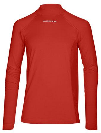 Bluza corp rosie maneca lunga ideala confort termic - Masita.ro